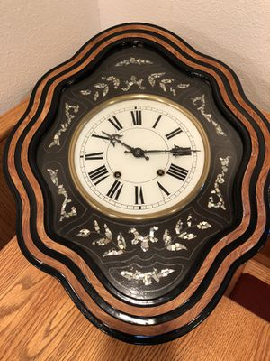 I am selling a Antique French Comtoise/Morbier Repeater Wall Clock circa 1880 for Sale in Milpitas, CA