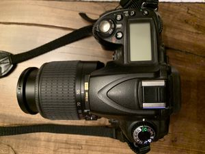 Nikon d90 camera with lens for Sale in Newtown, CT