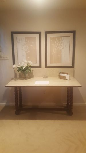 Tudor style Console/Dining Table for Sale in BALTIMORE, MD