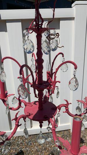 Pink Chandelier for Sale in Gilbert, AZ