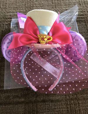 Minnie Mouse Mad Tea Party Ears/Headband for Sale in Santa Ana, CA