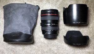 Canon 24-105mm lens for Sale in San Tan Valley, AZ