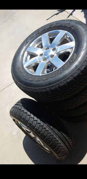 Jeep tire and rims for Sale in Sacramento, CA
