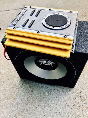 New 12 inch Lightning Audio amp/ Lightning Audio Amp for Sale in Sanger, CA