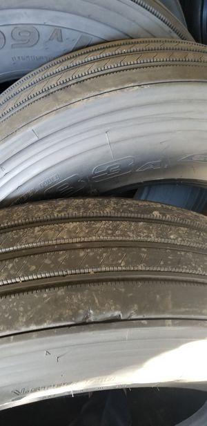 Llantas nuevas y usadas de traila y troke new and used tires for 18 wheeler for Sale in Dallas, TX