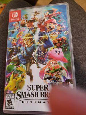 Super Smash Bros For Nintendo Switch for Sale in Alexandria, LA