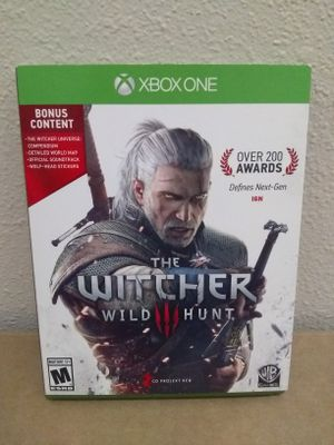The Withcer 3 Wild Hunt Xbox One for Sale in Fresno, CA