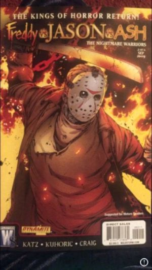 Freddy vs Jason vs Ash Comic Book for Sale in Milnesville, PA