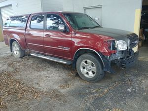 2006 Toyota Tundra SR5 double cab low mileage needs work salvage title for Sale in Port Richey, FL