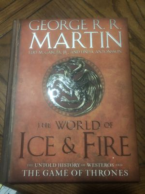 The World of Ice And Fire : Untold History of Westeros and Game of Thrones for Sale in Elmira, NY