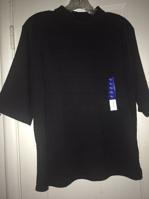 Apt 9 black mock neck blouse for Sale in Fresno, CA