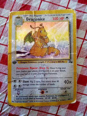 Dragonite pokemon card for Sale in Tracy, CA