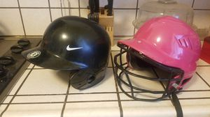 Baseball/Softball Helmet and gloves for Sale in Fresno, CA