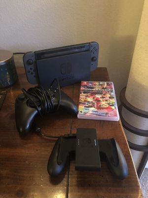 Nintendo switch and Mario kart for Sale in Shoreline, WA