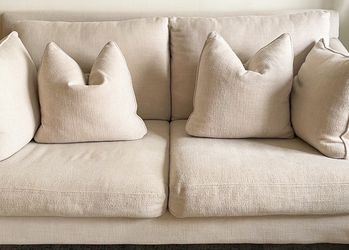 "Raymour & Flanigan Sintra 71"" Oat Sofa for Sale in New York,  NY"