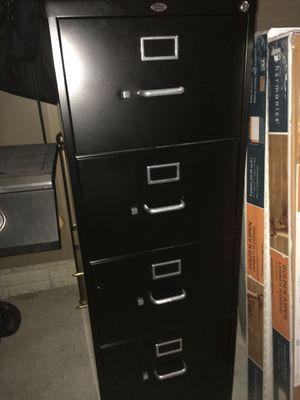 Vertical File Cabinet Black for Sale in Haymarket, VA