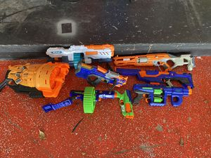 8 nerf guns for Sale in Delray Beach, FL