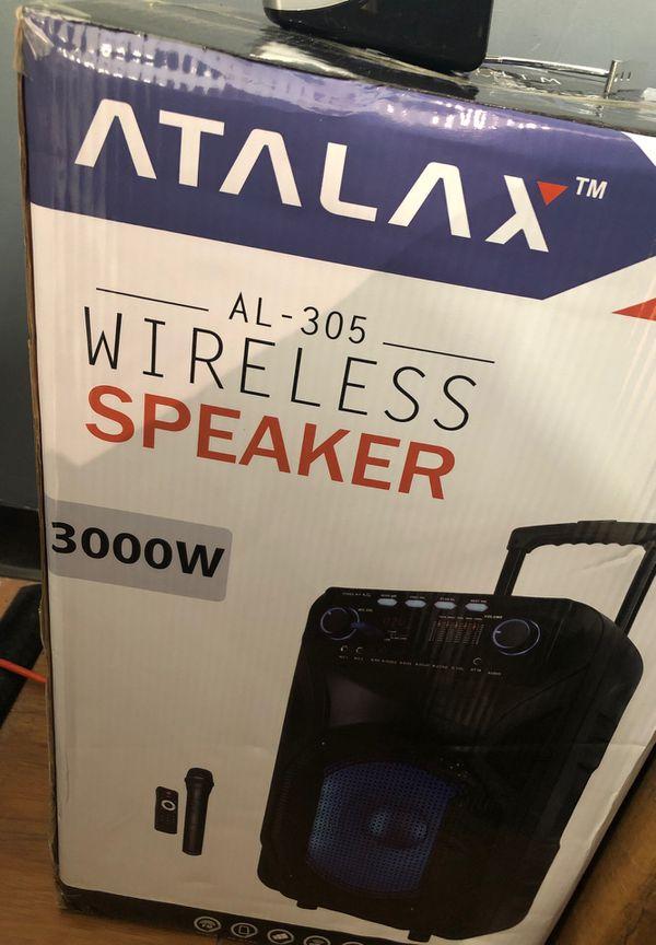 3000 Watt speaker