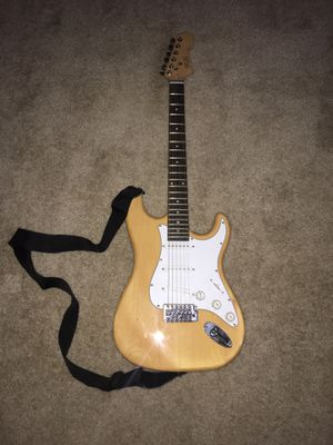 VLH Electric Guitar with strap and bag for Sale in Tacoma, WA