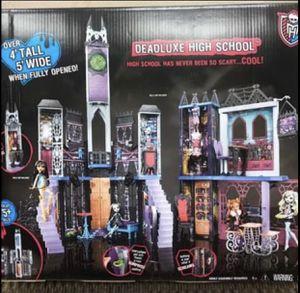 Monster Deadluxe high school (brand new) dollhouse for Sale in Fairfield, NJ