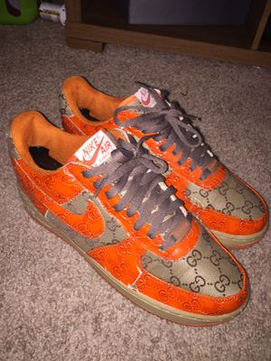 Nike Gucci Air Force 1 custom for Sale in Raleigh, NC