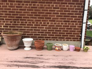 Planting Pots. for Sale in Fairfax, VA