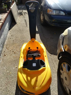Yellow toddlers pushing car for Sale in Pasadena, CA