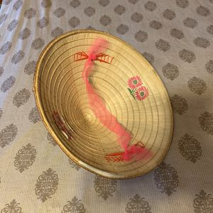 *Costume* Bamboo Conical Hat for Sale in Tamarac, FL