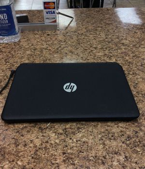 Hp notebook pc 500gb 4gb ram windows 10 with charger for Sale in Oakland Park, FL