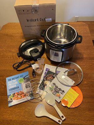 Instant Pot DUO Plus 60, 9-in-1 6 Quart for Sale in Twin Falls, ID