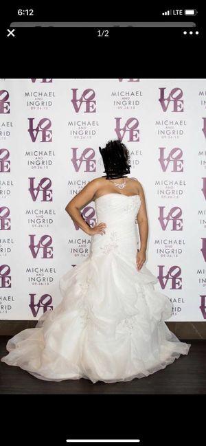 Wedding dress $500 for Sale in Montgomery Village, MD