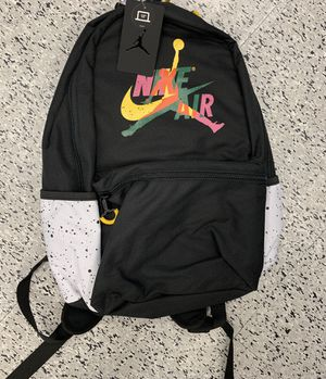 New with Tag Nike Air Jordan Backpack 13 inch laptop slot for Sale in Baltimore, MD