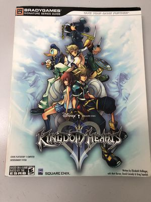 Kingdom Hearts II Official Strategy Guide (Bradygames Signature Series) Used Good Conditions!!! for Sale in Glendale, AZ