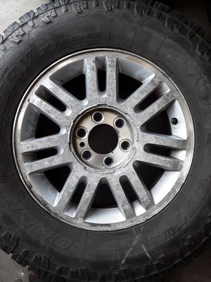 Ford 18 inch rims with tires for Sale in Melbourne, FL