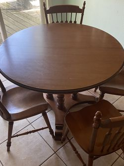 Wooden Table and China Cabinet For Sale for Sale in Spring,  TX