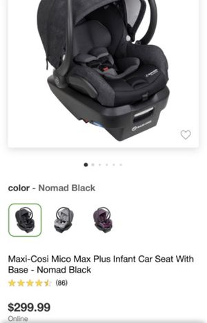Maxi Cosi Car Seat for Sale in Richmond, TX