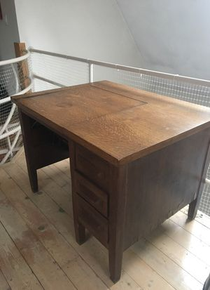 Antique Typewriter Desk for Sale in Wilmington, MA