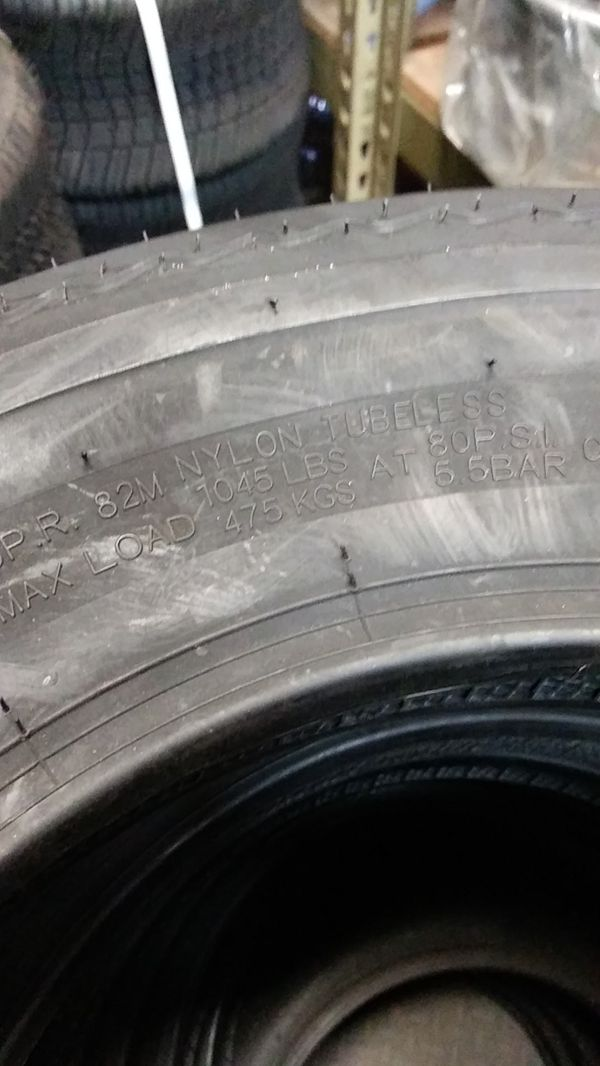 New Trailer Tires!!!