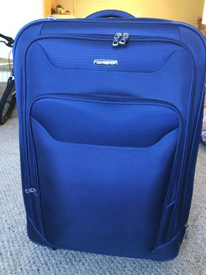 Blue suitcase for Sale in Acton, MA
