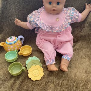 Doll With Accessories for Sale in St. Petersburg, FL