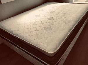 "QUEEN DOUBLE SIDED ORTHOPEDIC MIDIUM 9"" MATTRESS AND BOX SPRING BRAND NEW DELIVERY AVAILABLE. We finance for Sale in Brockton, MA"
