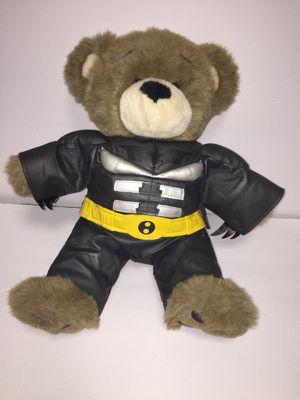 Build a bear Batman teddy bear for Sale in Richmond, VA
