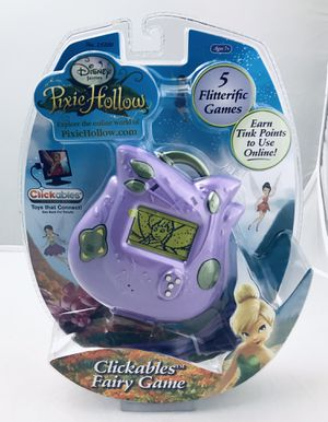Disney Pixie Hollow Clickables Fairy Handheld Game New in Package - USB Connect for Sale in Skokie, IL