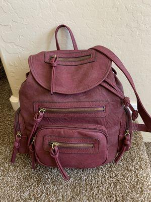 NEW burgundy backpack/purse for Sale in Phoenix, AZ