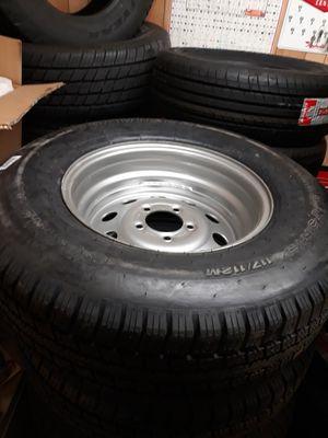 225/75/15 Trailer Rim and Tire for Sale in North Charleston, SC