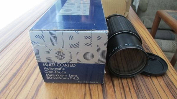 MC Automatic One-Touch Zoom 1:45 f 80-200 Pentax K Mount Camera Lens