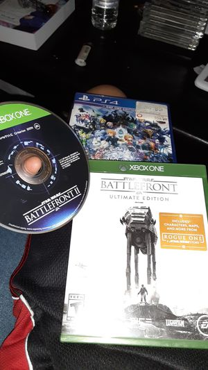 Ps4 game 2 xbox one game in case and manuals for Sale in Tracy, CA