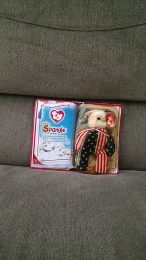 International striped bear plush new with box brand new never opened for Sale in Santa Clara, CA
