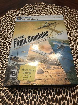 Microsoft Flight Simulator Deluxe Version for Sale in University Place, WA