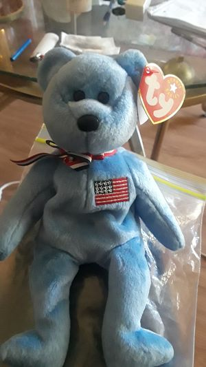 MINT CONDITION RARE TY AMERICA BEANIE BABY for Sale in Carmichael, CA